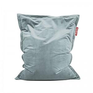 comprar pouf original slim Velvet Fatboy azul calcite