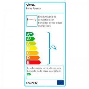 Petite Potence Vitra etiqueta energética