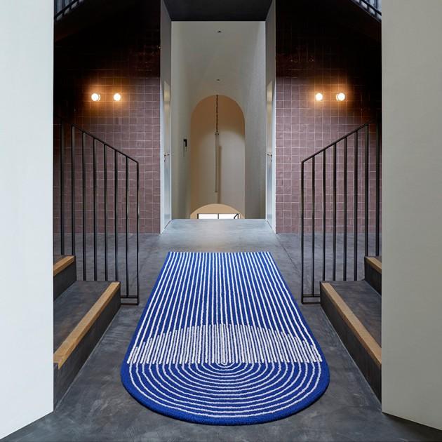 Alfombra Ply Blue de Gan Rugs en Moises Showroom