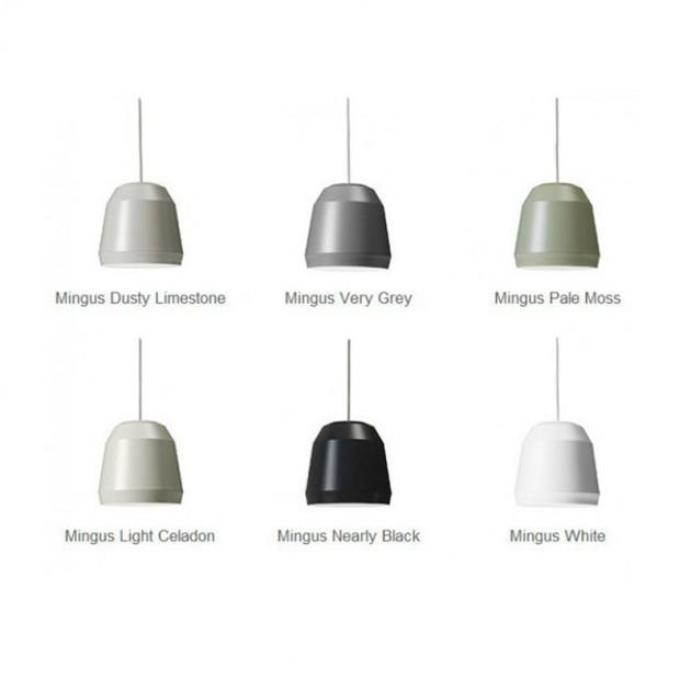 Paleta de colores lámpara Mingus P2 Fritz Hansen