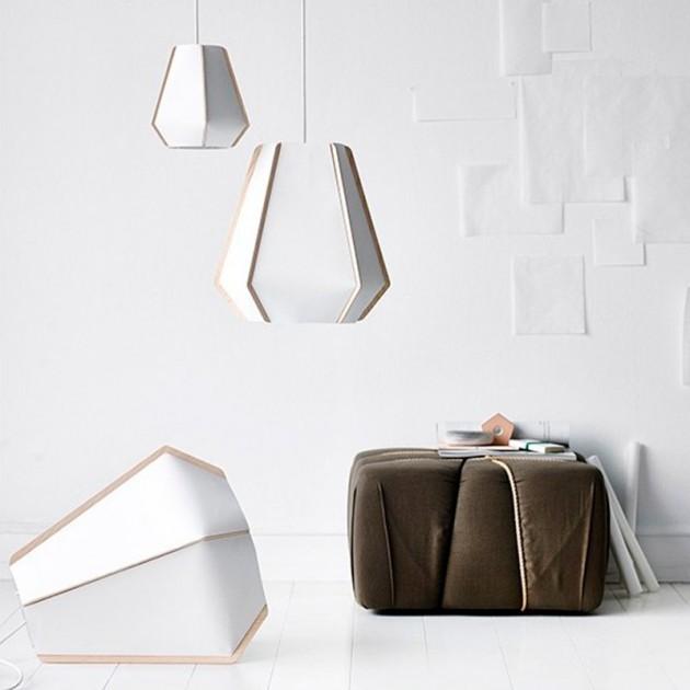 Ambiente con Lámparas colección Lullaby de Fritz Hansen