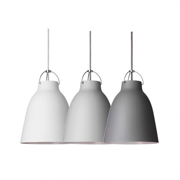 Lámparas suspensión Caravaggio Matt P4  Fritz Hansen