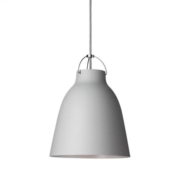 Lámpara Caravaggio Matt P2 color blanco Fritz Hansen