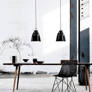 Ambiente con Lámpara Caravaggio P0 Blackblack Fritz Hansen