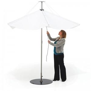 Ambiente Parasol Inumbrina 320 color blanco de extremis