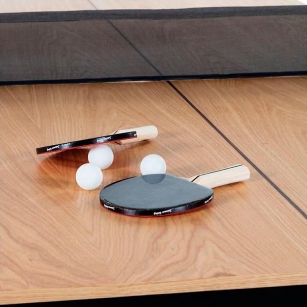 accesorios Mesa de Ping pong colección You and me de RS Barcelona. Disponible en Moisés Showroom