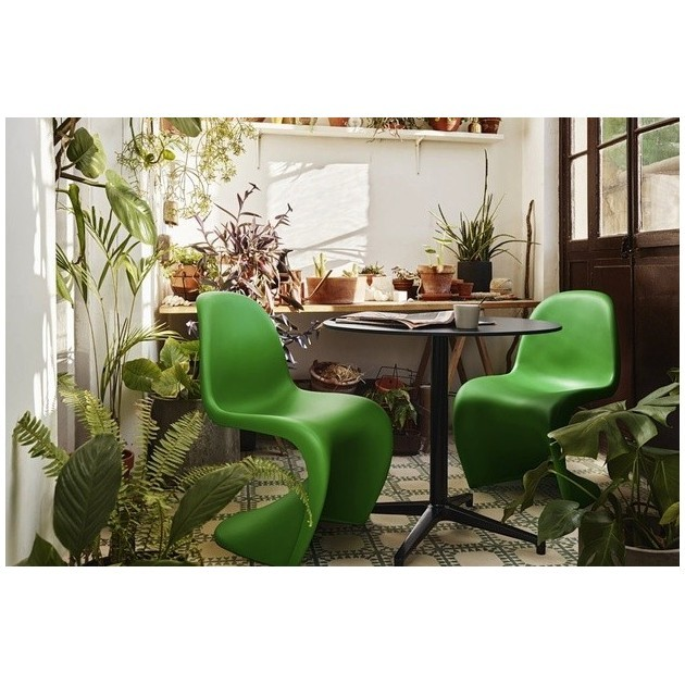 Silla Panton Summer Green ambiente Vitra - Outlet de Moises Showroom
