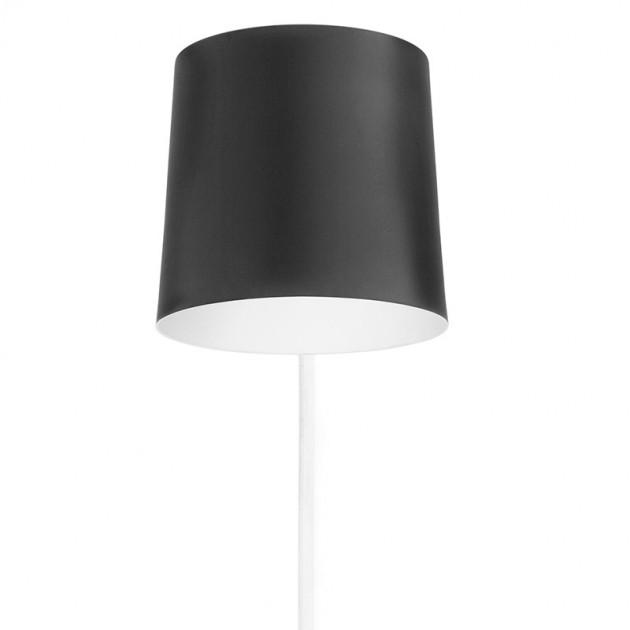pantalla Lámpara de pared Rise negro de Normann Copenhagen