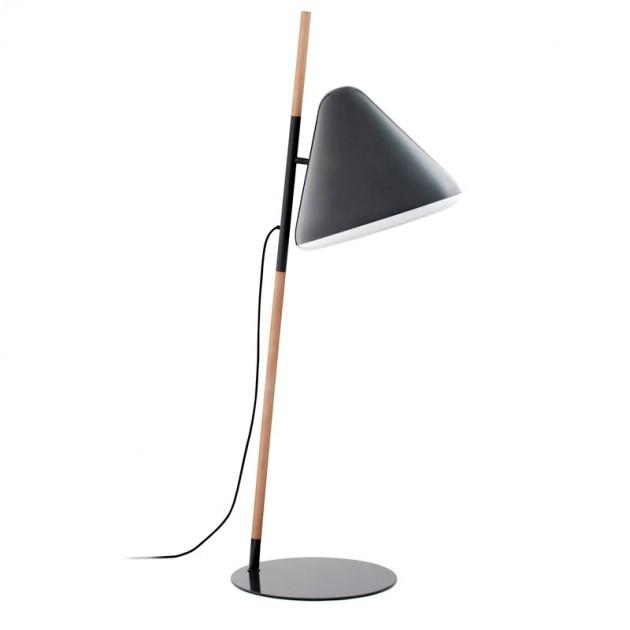 Lámpara de pie Hello gris oscuro de Normann copenhagen