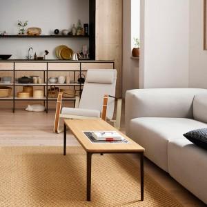 Sillón Cite tapicería Mello de Vitra en Moises Showroom ambiente 3