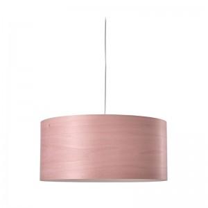 Lámpara suspensión Gea S de Luzifer rosa palo