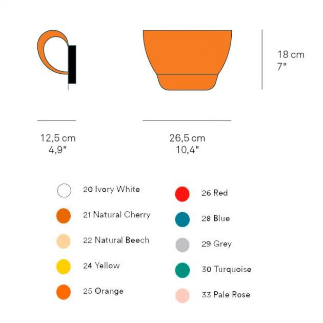 dimensiones y colores Aplique Pleg Luzifer