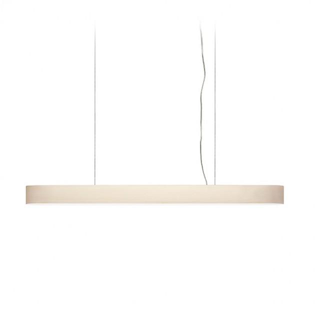 lámpara suspensión I-Club Luzifer pequeña blanca