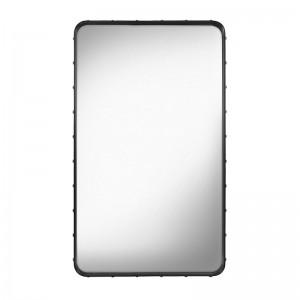 Espejo Adnet rectangular M negro de Gubi en Moises Showroom