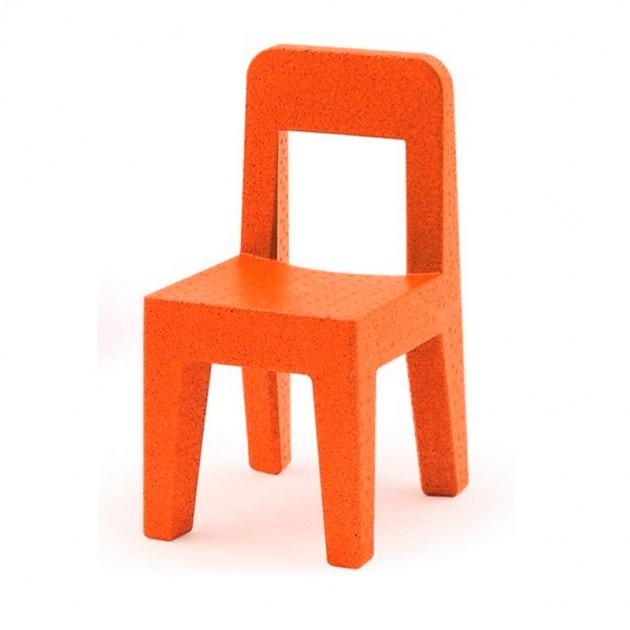 Silla seggiolina Pop de Magis me too naranja