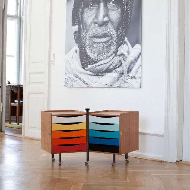 Ambiente con glove cabinet de Finn Juhl