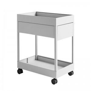 Cajonera New Order Trolley de HAY color gris claro en Moises Showroom