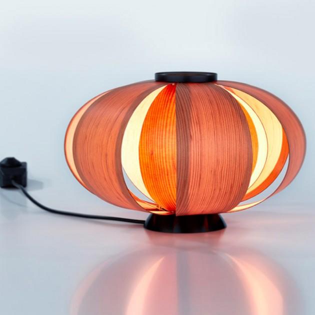 Lámpara Disa mini versión madera