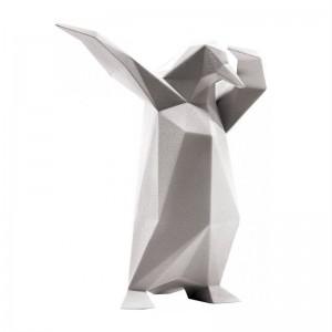 Escultura texturizada Dab Penguin Bosa