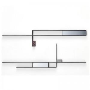 Espejos Mirror Lines composición 3 y composicion 4 de MDF Italia en Moises Showroom