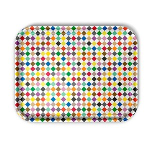 Bandeja Diamonds Multicolour L Classic Tray - Vitra