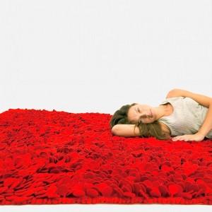 alfombra roja Roses Nanimarquina