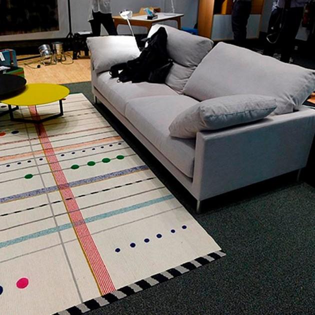 salón alfombra Rabari 2 Nanimarquina