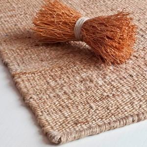 detalle alfombra Vegetal Nanimarquina natural