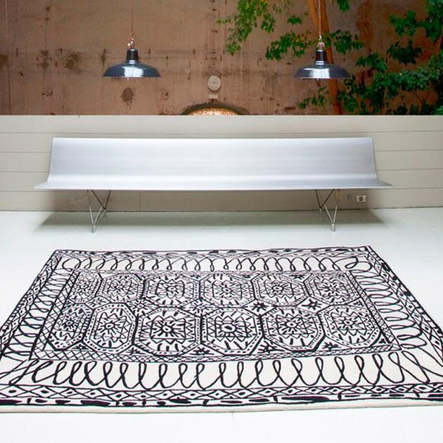 sala recibidor con alfombra Estambul
