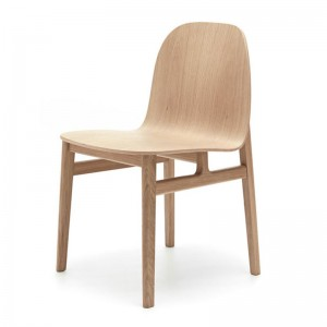 Silla Terra Wood roble natural de Omelette-Ed en Moises Showroom
