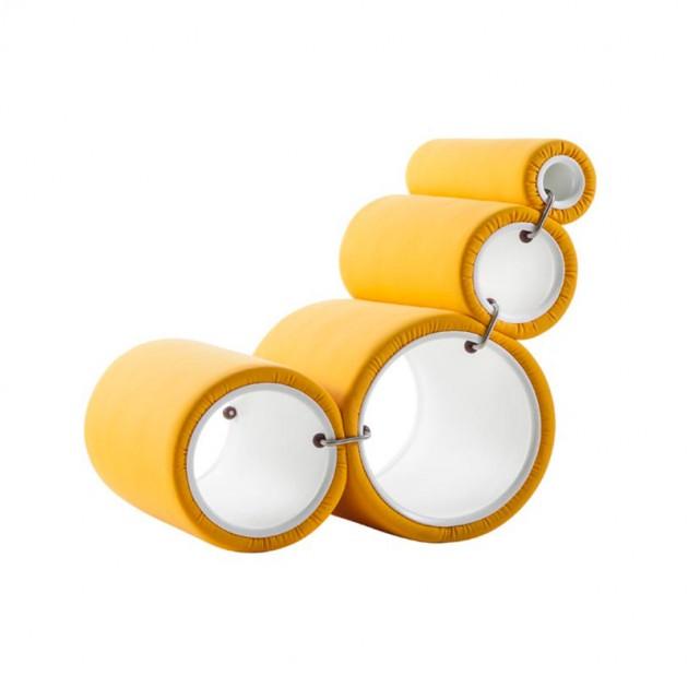 Butaca Tube Cappellini Amarilla