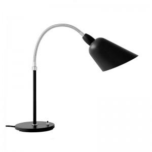 Lámpara de mesa Bellevue AJ8 &Tradition negra y acero