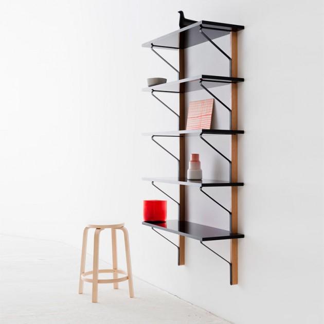ambiente estantería de pared Kaari 100x55 Artek