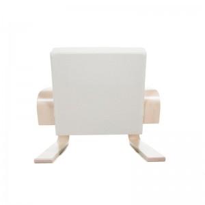respaldo sillón 400 Tank brazo abedul lacado natural Artek