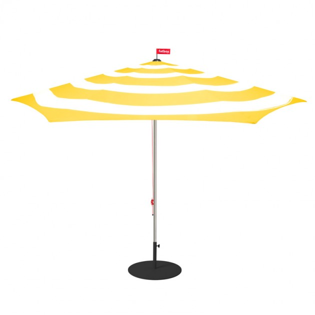 comprar sombrilla Stripesol Fatboy amarillo limón