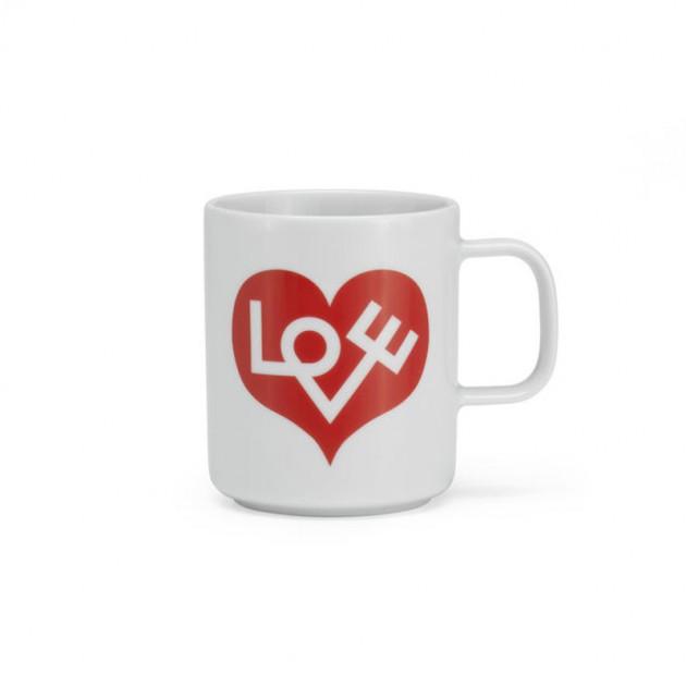 comprar Coffee mug love heart Vitra roja
