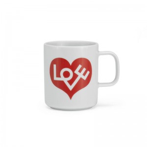 comprar Coffee mug love heart Vitra roja