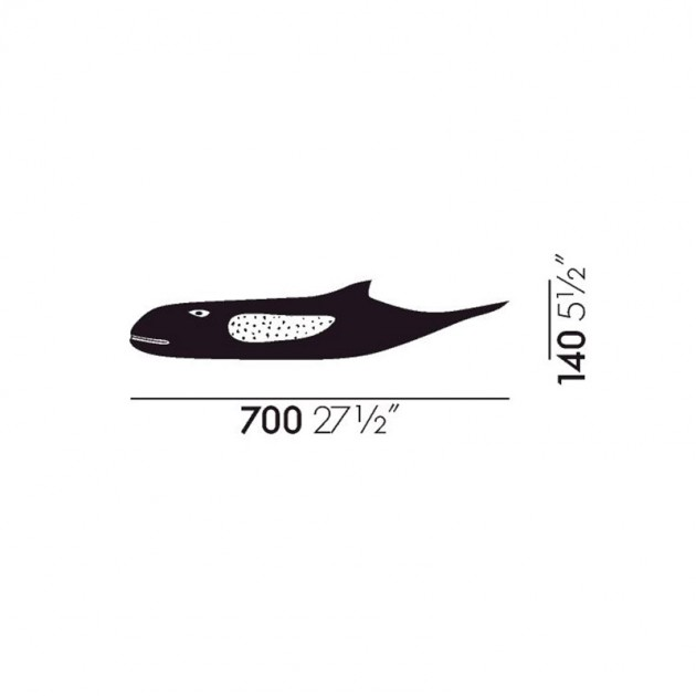 medidas Eames House Whale Vitra