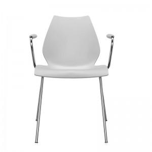 comprar silla Maui con brazos Kartell gris