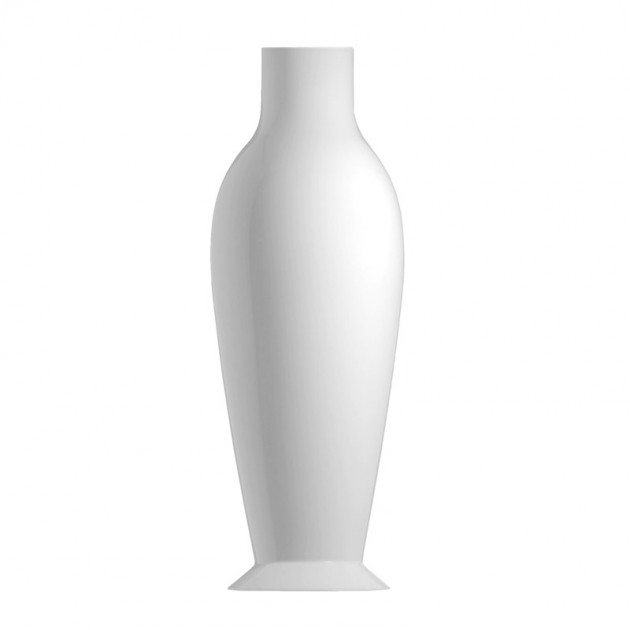 comprar jarrón Mises Flower power blanco brillante Kartell
