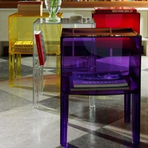 comprar mesa auxiliar Ghost Buster small Kartell violeta