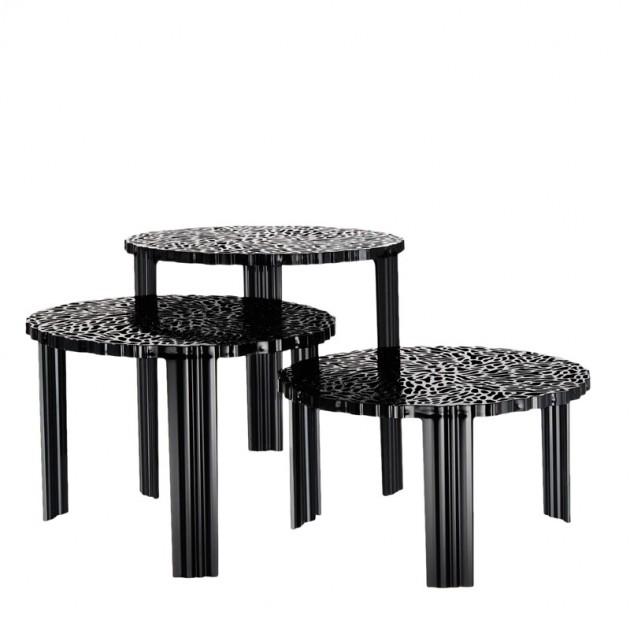 mesas T- Table Kartell negra