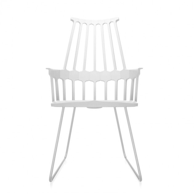 comprar silla Comback Trineo Kartell blanca