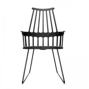 comprar silla Comback Trineo Kartell negra
