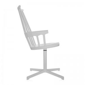 comprar silla comback giratoria blanca Kartell