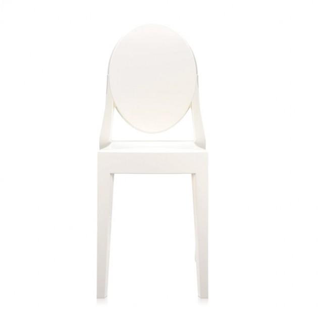 comprar silla Victoria Ghost Kartell blanco brillante