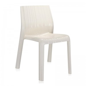 silla Frilly Kartell blanco brillante