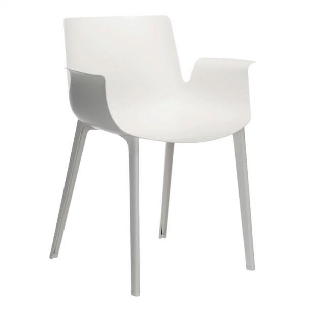 silla Piuma Kartell blanca