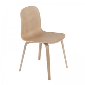 Silla Visu chair base madera roble de Muuto en Moises Showroom