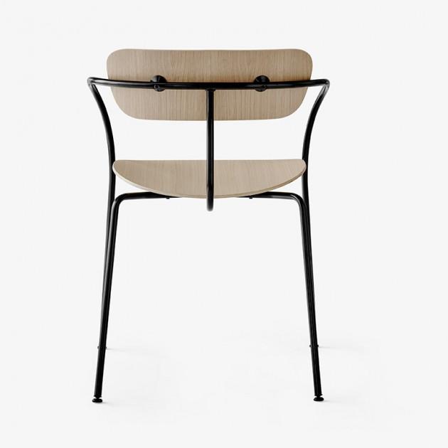 respaldo silla Pavilion AV2 &Tradition roble lacado